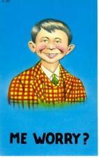 ALFRED E. NEUMAN - ORIGINAL 1950's Pre MAD Magazine Postcard