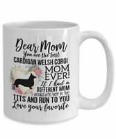 Cardigan Welsh Corgi Mom Mug Mother's Day Gift For Cardigan Welsh Corgi Lover