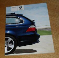 BMW 5 Series Touring Brochure 2007 523i 525i 550i 520d 525d 530d 535d M Sport SE