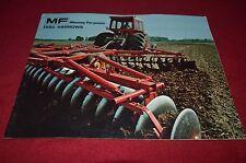 Massey Ferguson 620 520 39 21 25 30 40 Disc Harrow Dealer's Brochure DCPA6 ver2