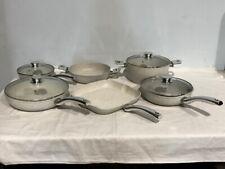 Bisetti Stonewhite Cookware Set, 10-Pieces Set