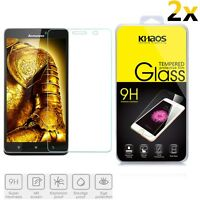 2x KHAOS Tempered Glass Screen Protector Shield For Lenovo Note 8 A936