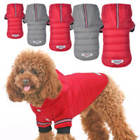 Winter Dog Clothes Warm Pet Dog Jacket Coat Puppy Chihuahua Clothes Outfits