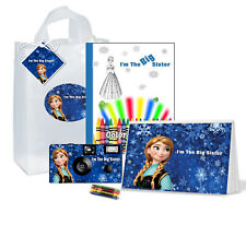 I'm The Big Sister Gift-Bag-Anna Frozen-Single use Disposable camera-kids Pkg708