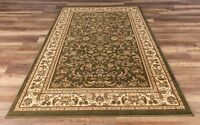 Eternal Premium Quality Classic Area Rug Green Soft Plush Traditional Oriental