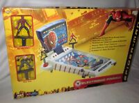 MGA ENTERTAINMENT TABLE TOP SPIDER MAN 2 PINBALL GAME WITH FIGURES