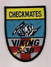 Usn Vs-22 Checkmates S-3B Viking patch S-3 Viking Sqn