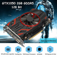 GTX 1050 2g Ddr5 Graphics Card High Definition 128 Bit for NVIDIA GeForce UK