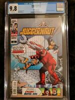 CGC 9.8 JUGGERNAUT #1 1:100 HIDDEN GEM WERNER ROTH COVER ONLY 2 ON CGC CENSUS!