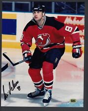 Mike Peluso Autographed Color 8x10 Photo NJ Devils CAS Authentic