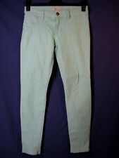 CABI THIN MINT JEGGINGS Seafoam Green/Blue JEANS LEGGINGS 322 SKINNY (29-30) 6