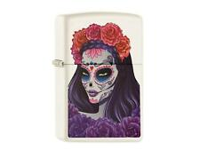 "ZIPPO ""TATTOO LADY"" WHITE COLOR LIGHTER ** NEW in BOX **"