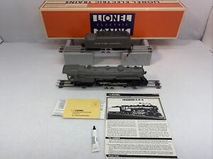 Lionel 6-18002 NYC Hudson Gray 4-6-4 Steam Engine w Tender Used O Gauge #785