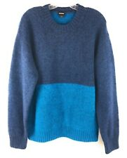 Diesel K Shetl Mens Pullover Sweater Midnight Blue M