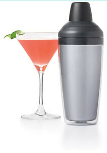 OXO Good Grips Cocktail Shaker Mixer With Strainer & Jigger Measuring Cup, 16 Oz