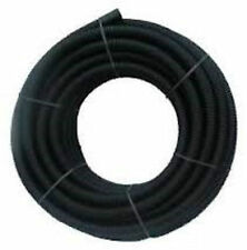 Black Twinwall Duct x 50m coil for Electric cable 63mm (50mm int) Ducting
