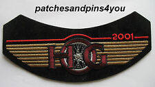 Harley Davidson HOG Harley Owners Group 2001 Patch New! FREE U.K. POSTAGE!