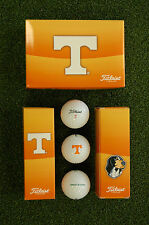 NEW TITLEIST TENNESSEE UT VOLS DT ROLL GOLF BALLS - 1/2 DOZEN