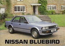 Nissan Bluebird 1984 UK Market Sales Brochure 1.8 DX 2.0 GL SGL Turbo ZX