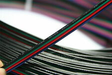 10M RGB 4-Pin 22AWG Cable Extension Cord Wire Connector for LED Strip 3528 5050