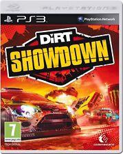 Dirt Showdown PS3 Playstation 3 Video Games VGC Complete car racing race crash