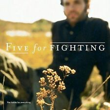 FREE US SHIP. on ANY 2+ CDs! ~Used,Good CD Five for Fighting: The Battle For Eve