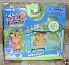 Littlest Pet Shop HERMIT CRAB orange purple nook 352