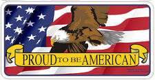 Proud To Be American License Plate