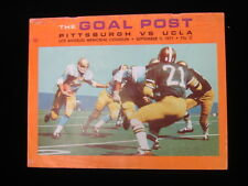 September 11, 1971 University of Pittsburgh vs. UCLA Football Program EX-MT