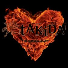 CD TAKIDA, The Burning Heart, 2011, NEU