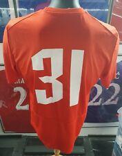 Maillot jersey maglia trikot shirt serbia partizan zvezda vojvodina worn porté