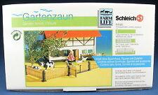 SCHLEICH 40147 - Gartenzaun mit Tor - in OVP - erste VARIANTE 1993 - Fence