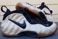2010 Nike Foamposite Pro Pearl men sz 13 624041-206 white/black/true red re-glue
