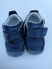 Stride Rite Baby Boys Shoes Booties Size 4.5 4 1/2 Wide Leather Upper and sole