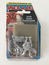 WARHAMMER 40,000 CHAOS KHORNE TRAITOR MARINE WORLD EATER ROGUE TRADER BLISTER