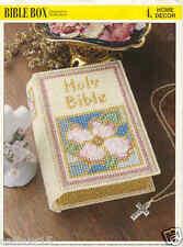 Bible Box ~  plastic canvas pattern   ~ Annie's