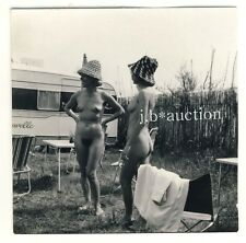 Nude Girls 'Camping/Femmes CAMPER nu ver * vintage 50s serge Jacques photo