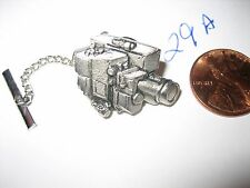 Rare Vintage MOVIE VIDEO Camera Tie Tack Lapel Pin BADGE