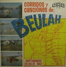 V/A - CORRIDOS Y CANCIONES DE BEULAH - LP NEW SEALED ORO LP 201 SEPT 19-21 1967