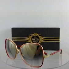 Brand New Authentic Dita Sunglasses Bluebird Two 21011-C-Red 65mm Frame
