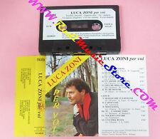 MC LUCA ZONI Per voi italy ITALVOX IT/36 LISCIO no cd lp dvd vhs