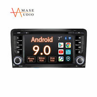 """For Audi A3 S3 Android 9.0 DSP+ 2-Din 7"""" Touch Screen GPS Navi Car Radio Stereo"""