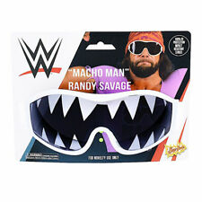 Macho Man Randy Savage WWE White Shark Tooth Shades Sunglasses