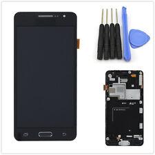 Vitre tactile Noir et écran LCD sur chassis pour Samsung Galaxy Grand Prime G530