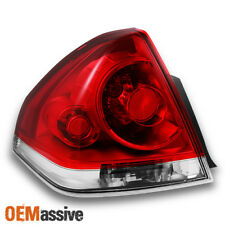06-13 Chevy Impala Replacement Red Clear Driver Left Tail Lights Replacement