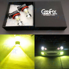 NEW 2x H8 H9 H11 H16 4000K Yellow 100W CREE LED Headlight Bulbs Kit Fog Light