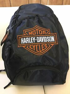 Backpack Print Harley Davidson  Padded Backpack