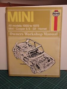 Classic Austin Mini Haynes Manual 1959-1969 Workshop