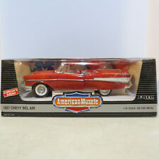 Ertl American Muscle 1957 Chevy Matador Red Bel Air 1/18 Cy7330