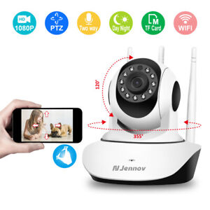 1080P Wireless WiFi IP CCTV Camera Home Security Baby Monitor Indoor Pan Tilt
